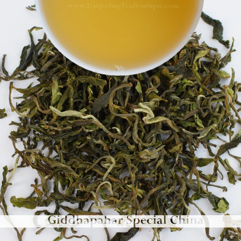 A GIDDHAPAHAR CHINA SPECIAL  - Darjeeling 1st flush 2018  - 50gm (1.76oz)