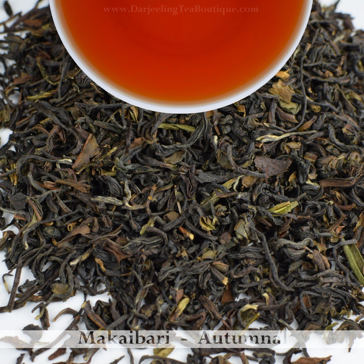 FRAGRANT AUTUMNAL FROM MAKAIBARI  -  Darjeeling Autumn Flush Tea   2017  (100gm / 3.5oz)