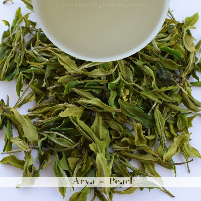 THE ARYA PEARL - Darjeeling White Tea 2018  - 50gm (1.76oz)