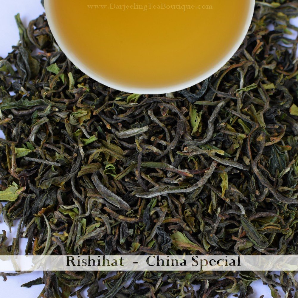 RISHIHAT CHINA SPECIAL  - Darjeeling 1st flush 2018  - 100gm (3.52oz)