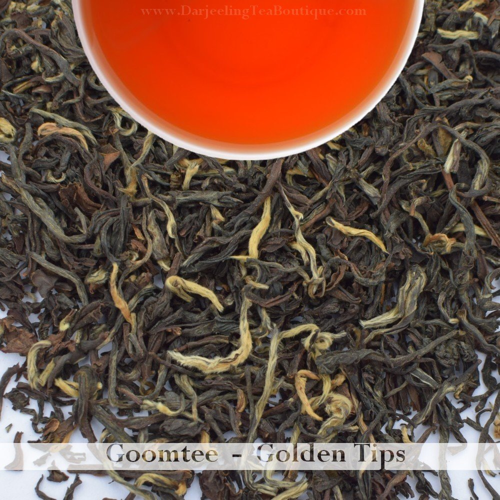GOLDEN TIPS OF GOOMTEE  - Darjeeling 2nd Flush 2018  (100gm / 3.5oz)