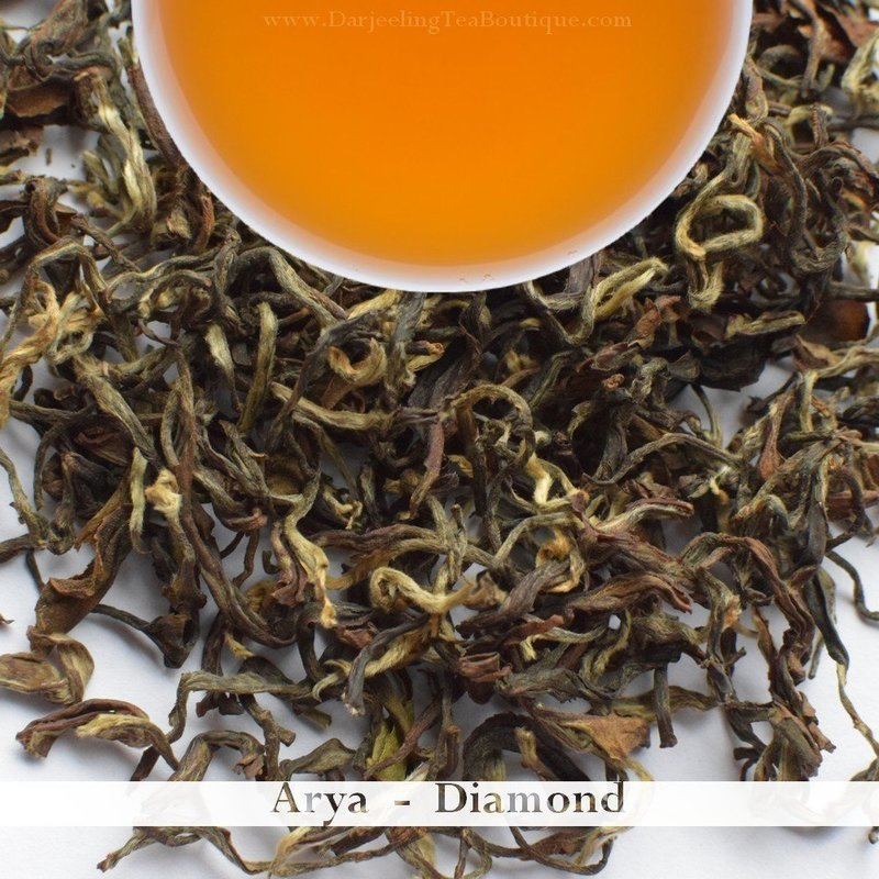 THE ARYA DIAMOND - Darjeeling 2nd Flush 2018 (50gm / 1.76oz)