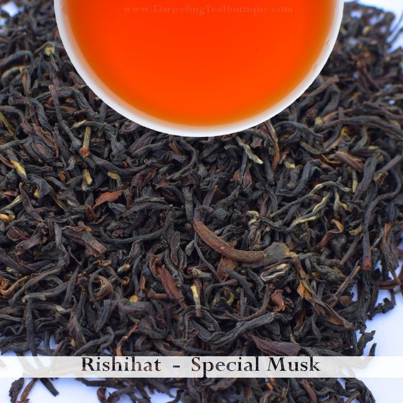 RISHIHAT SPECIAL MUSK - Darjeeling 2nd Flush 2018 (100gm / 3.5oz)