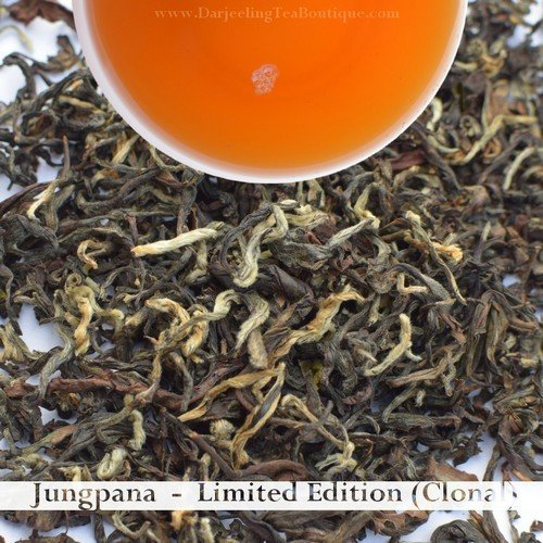 A FRAGRANT JUNGPANA CLONAL   - Darjeeling Autumn Flush Tea 2018  (100gm / 3.5oz)