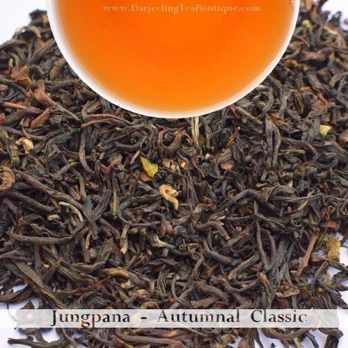 THE CLASSIC FROM JUNGPANA  -  Darjeeling Autumn Flush Tea 2018    (100gm / 3.5oz)