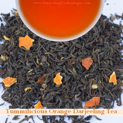 Yummilicious Darjeeling Orange Tea, 100gm (3.52oz) Pack