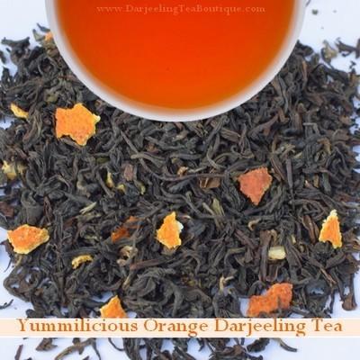 Yummilicious Darjeeling Orange Tea, 100gm (3.52oz) Pack