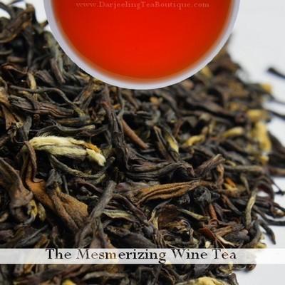 The Mesmerizing Wine Tea, 100gm (3.52oz) Pack