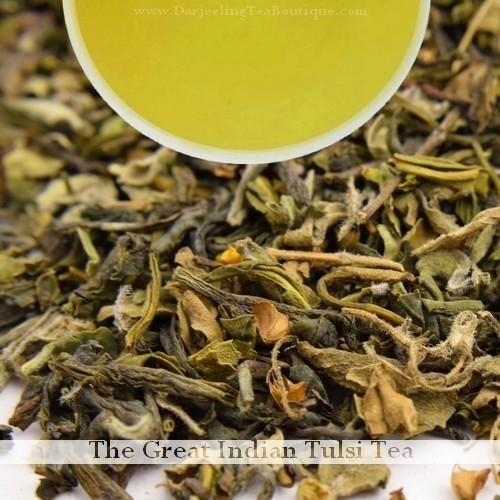 Tulsi Green Tea (Holy Basil)   -  100gm (3.52oz)