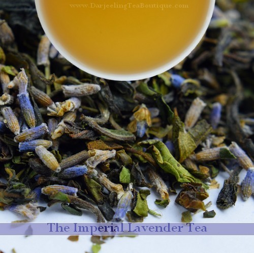 The Imperial Lavender Tea, 100gm (3.52oz) Pack