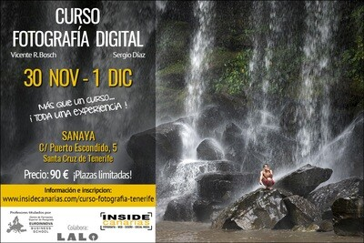 Curso de fotografía digital 30 de noviembre y 1 de diciembre
