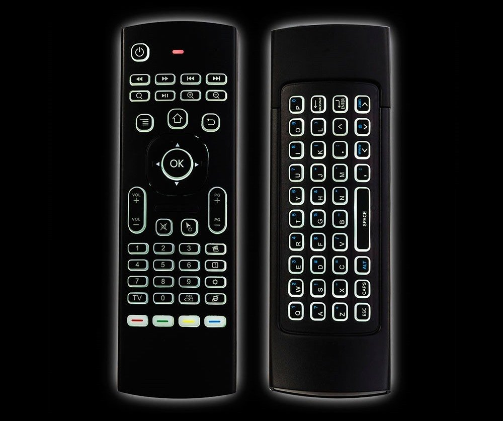 MX3 Pro Backlit Air Mouse & Keyboard