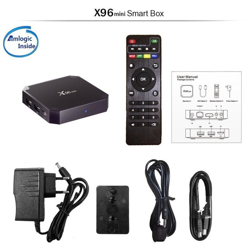 X96 Mini - Android TV Boxes SA