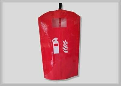 Schutzhülle Feuerlöscher klein PVC extrastark