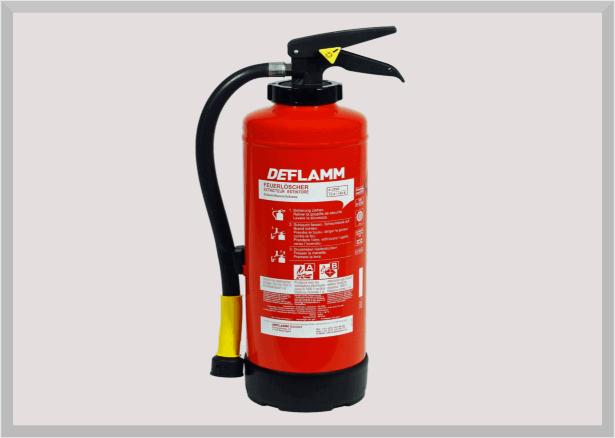 Fettbrand Feuerlöscher W9AKM