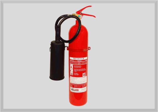 Kohlendioxid Feuerlöscher KS5