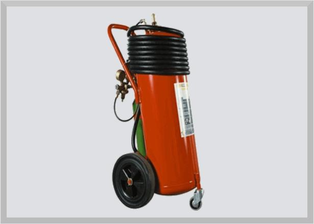 Sprühschaum Feuerlöscher S50A (fahrbar)