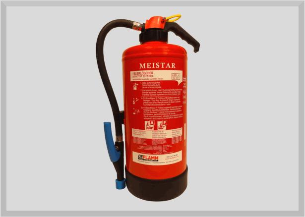 Wassernebel Feuerlöscher W6WNA