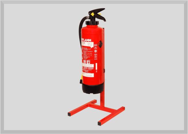Feuerlöscher Bodenständer für 1 Handfeuerlöscher von 3 bis 12kg