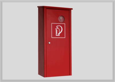 Schutzschrank für Feuerlöscher bis 12kg, sehr stabile Ausführung, rot Pulverbeschichtet
