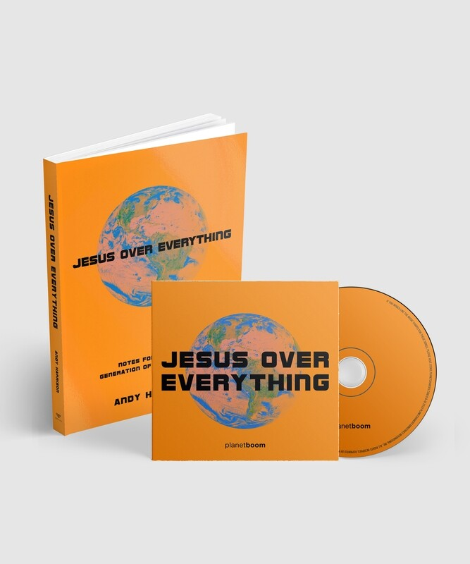 Jesus Over Everything Combo Deal : Book + CD