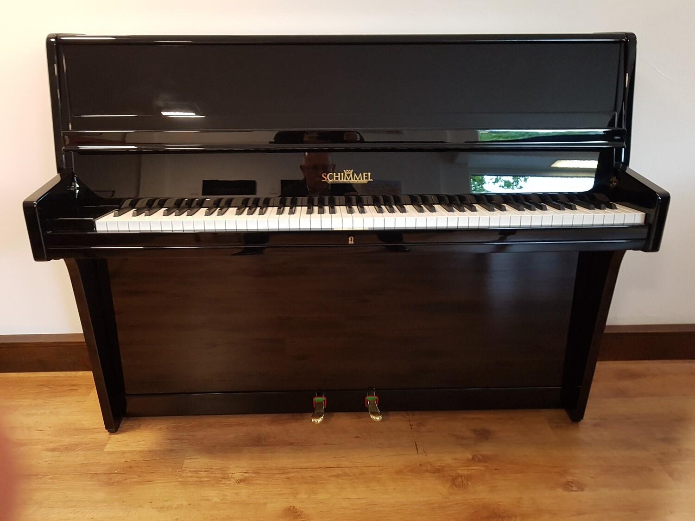 Klavier Schimmel, Mod. 108, Schwarz hochglanz