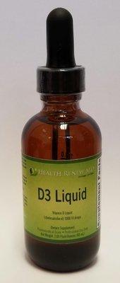 Vitamin D3 - Liquid drops or capsules