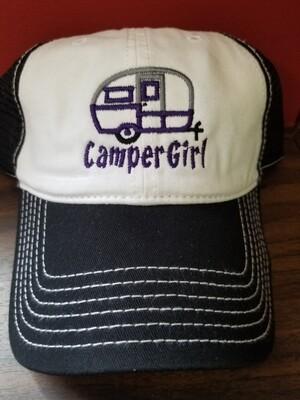 Camper Girl Mesh Adjustable Hat