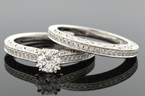 Item #4303 Scott Kay, Artiste, Diamond Wedding Set 4303