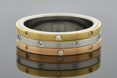 Tri-Tone Kinetics Diamond Band