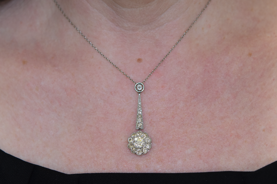 Late Edwardian Diamond Necklace