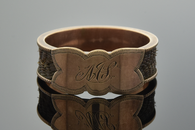 Victorian Band Style Hair Ring