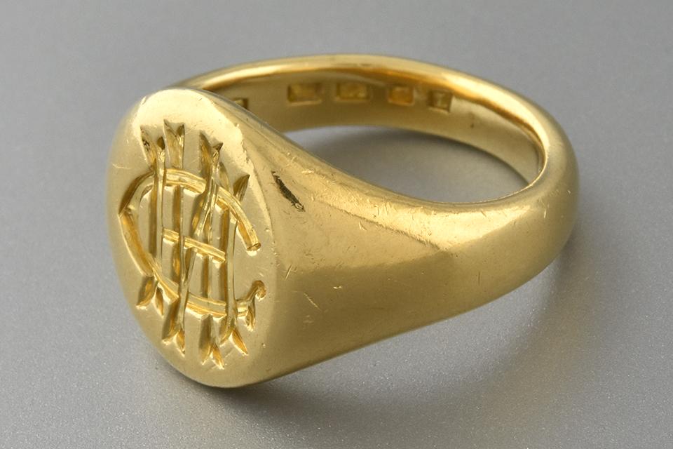 Fine Made English Seal Ring