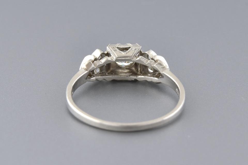 Art Deco Beauty: Handmade Diamond Ring