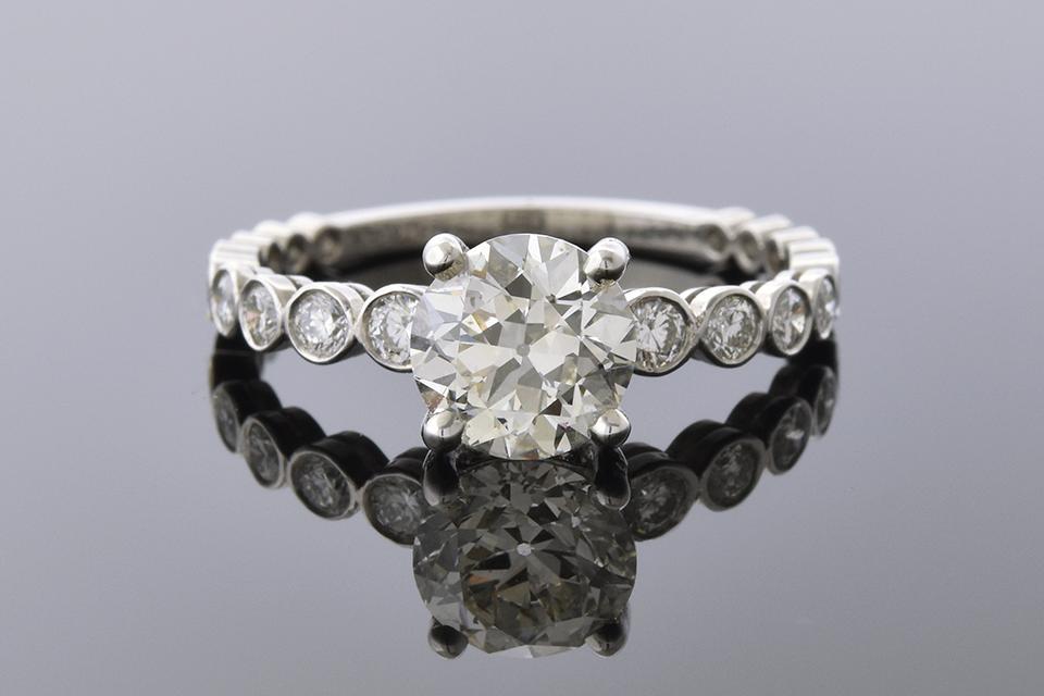 Item #4693 1.21 Carat Diamond Engagement Ring 4693