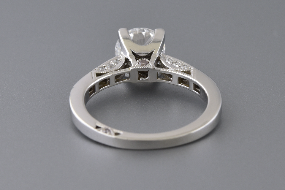 Classic style Tacori Diamond Engagement Ring