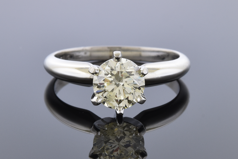 Item #12093 Classic 1.02 Carat Diamond Solitaire Engagement Ring 12093
