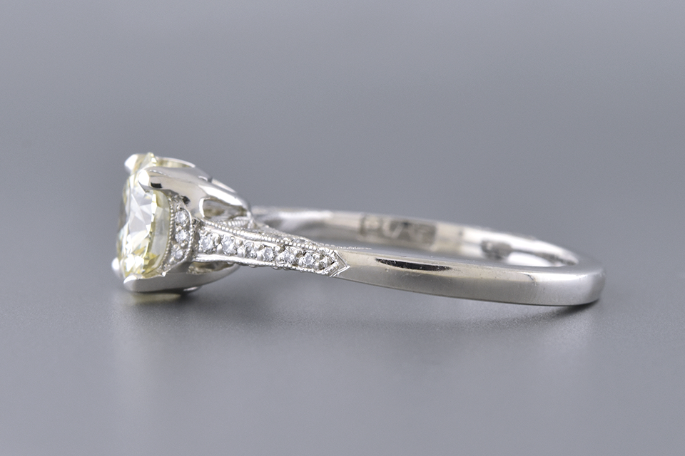 Tacori Engagement Ring with a 1.50 Carat Diamond