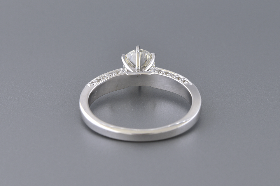 Classic Design .70 Carat Diamond Engagement Ring