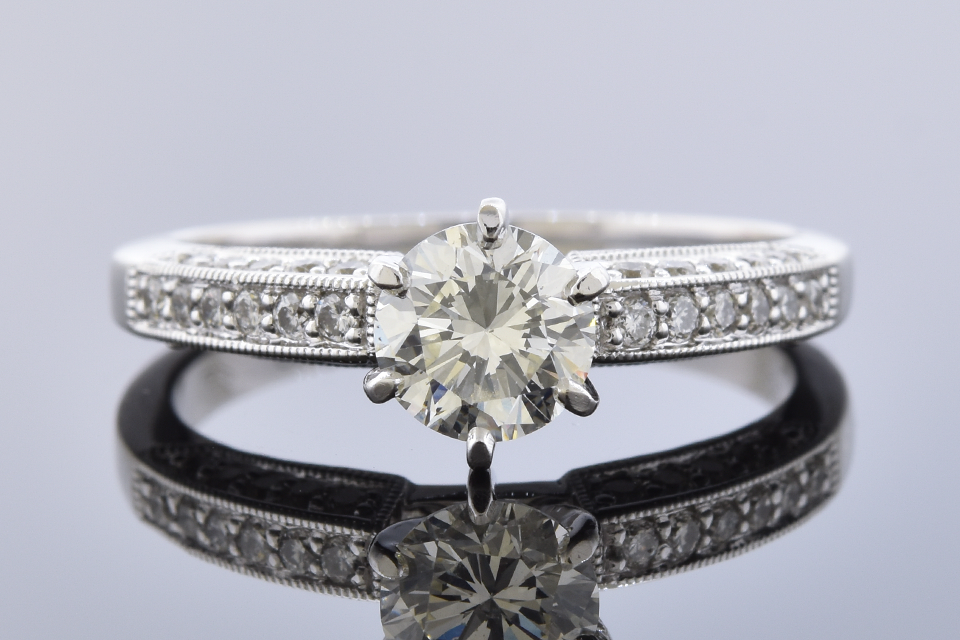 Item #11334 Classic Design .70 Carat Diamond Engagement Ring 11334