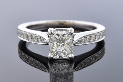 Colorless 1.03 Carat Diamond Engagement Ring