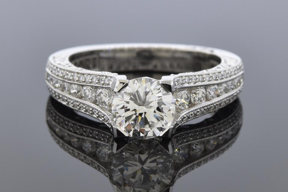 Item #12160 Colorless 1.06 Carat Diamond Engagement Ring by Tacori 12160