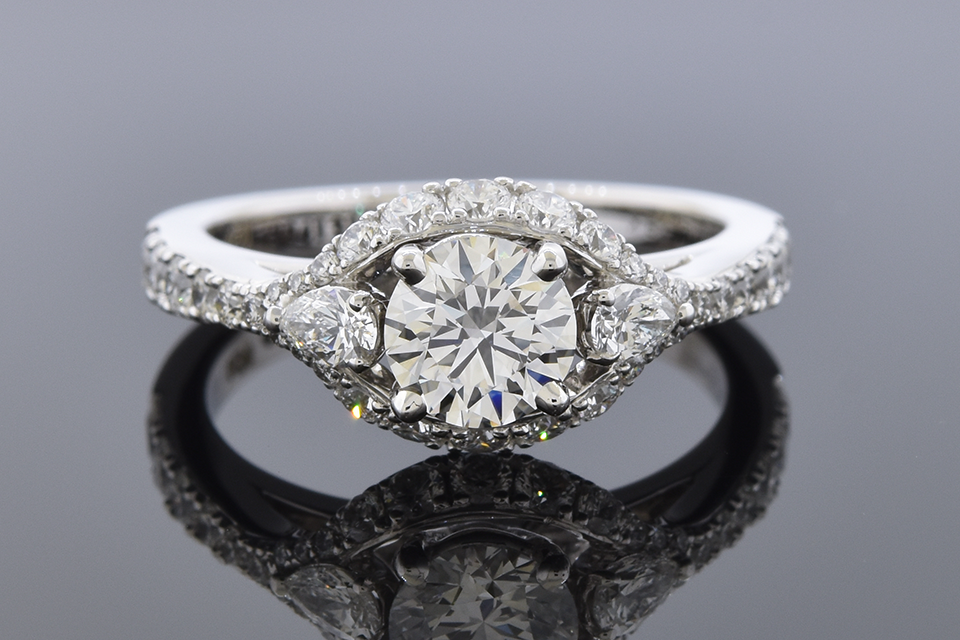 Item #11301 Colorless .73 Carat Diamond Engagement Ring By Simon G. 11301