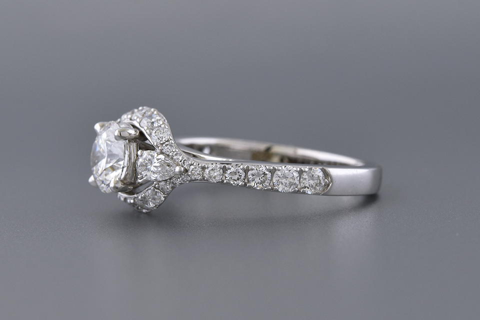 Colorless .73 Carat Diamond Engagement Ring By Simon G.