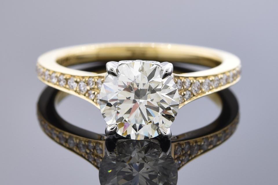 Item #11111 Bright 1.72 Carat Diamond Engagement Ring 11111