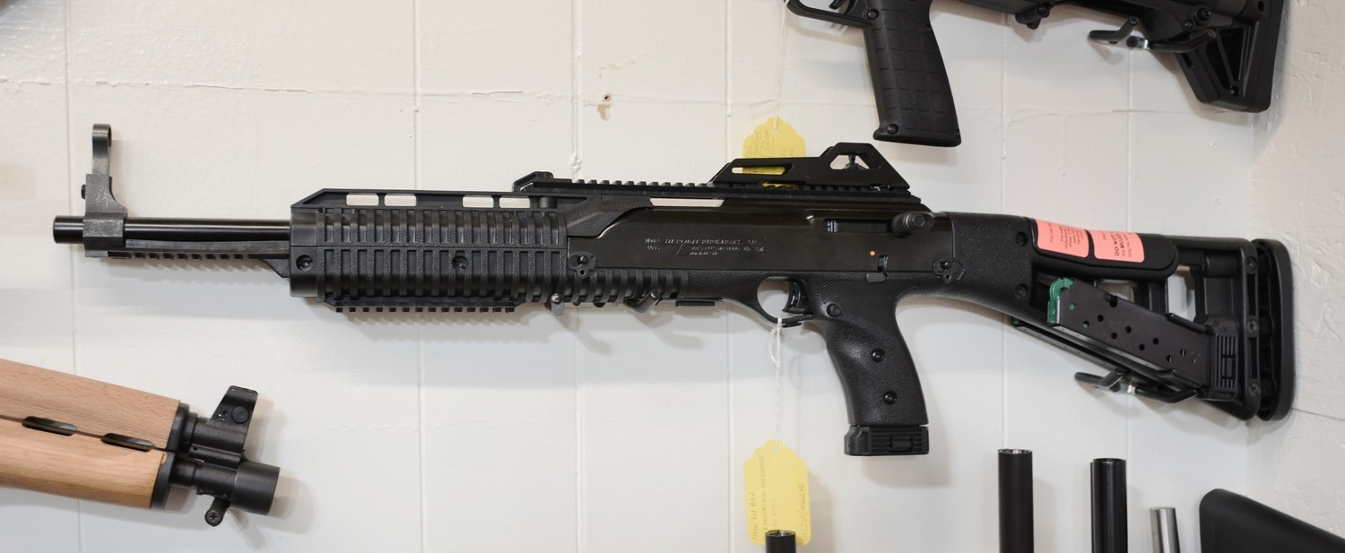 HI POINT 995TS CARBINE with PRO PACK(Stock Mounted Dual Mag Carrier & 2  Extra Mags)/ Semi Auto/ 16
