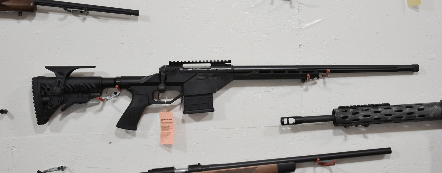 SAVAGE 10BA STEALTH RIFLE/ 6 5 CREEDMOOR/ Monolithic Chassis/  Factory-Blueprinted Savage Action/ 10+1/ 24