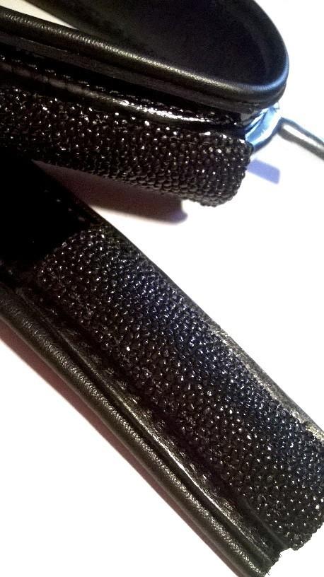 Galuchat Noir / Black