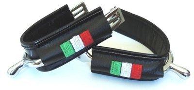 Duø Noir - Italie / Black Italy flag