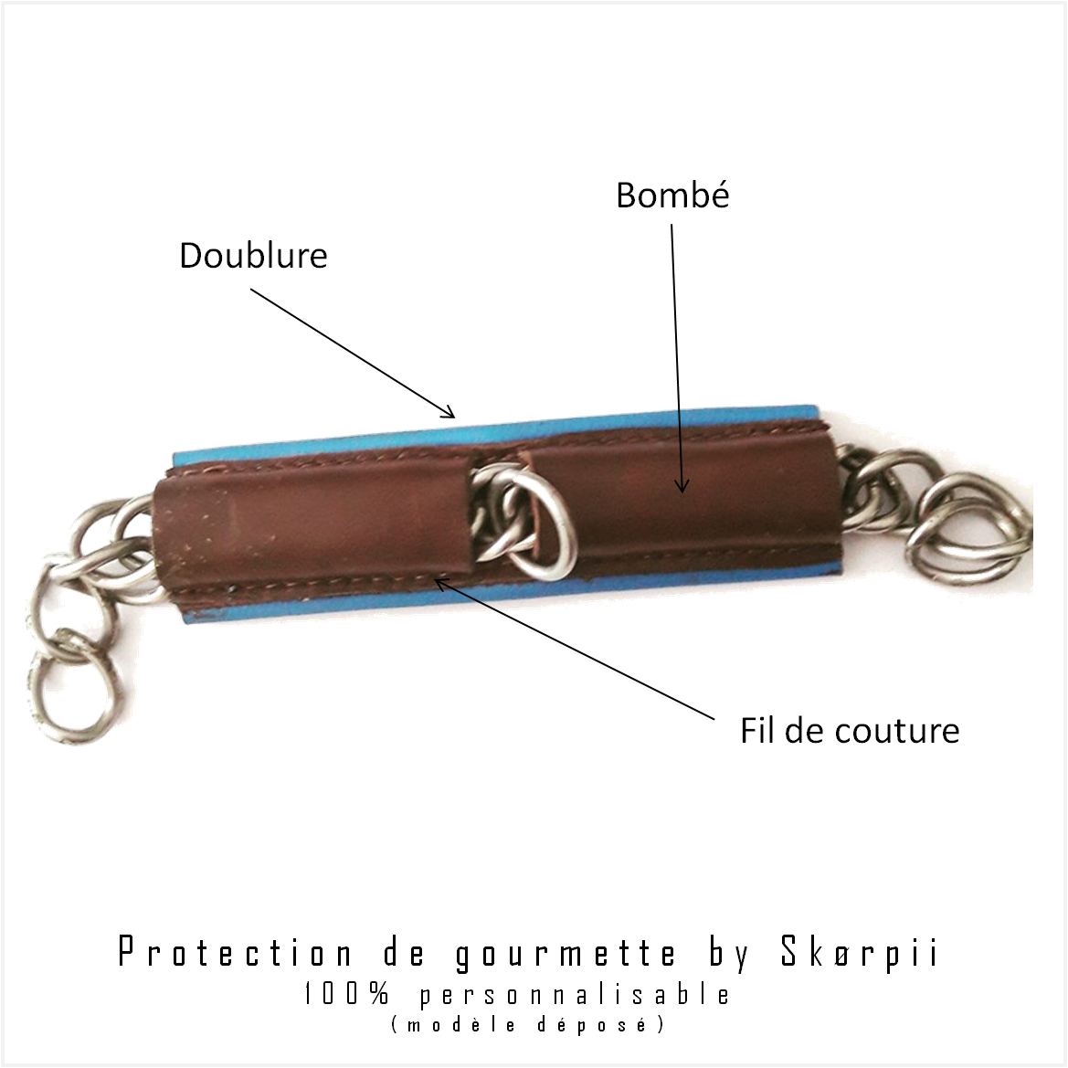 Personnalisable Protection Gourmette